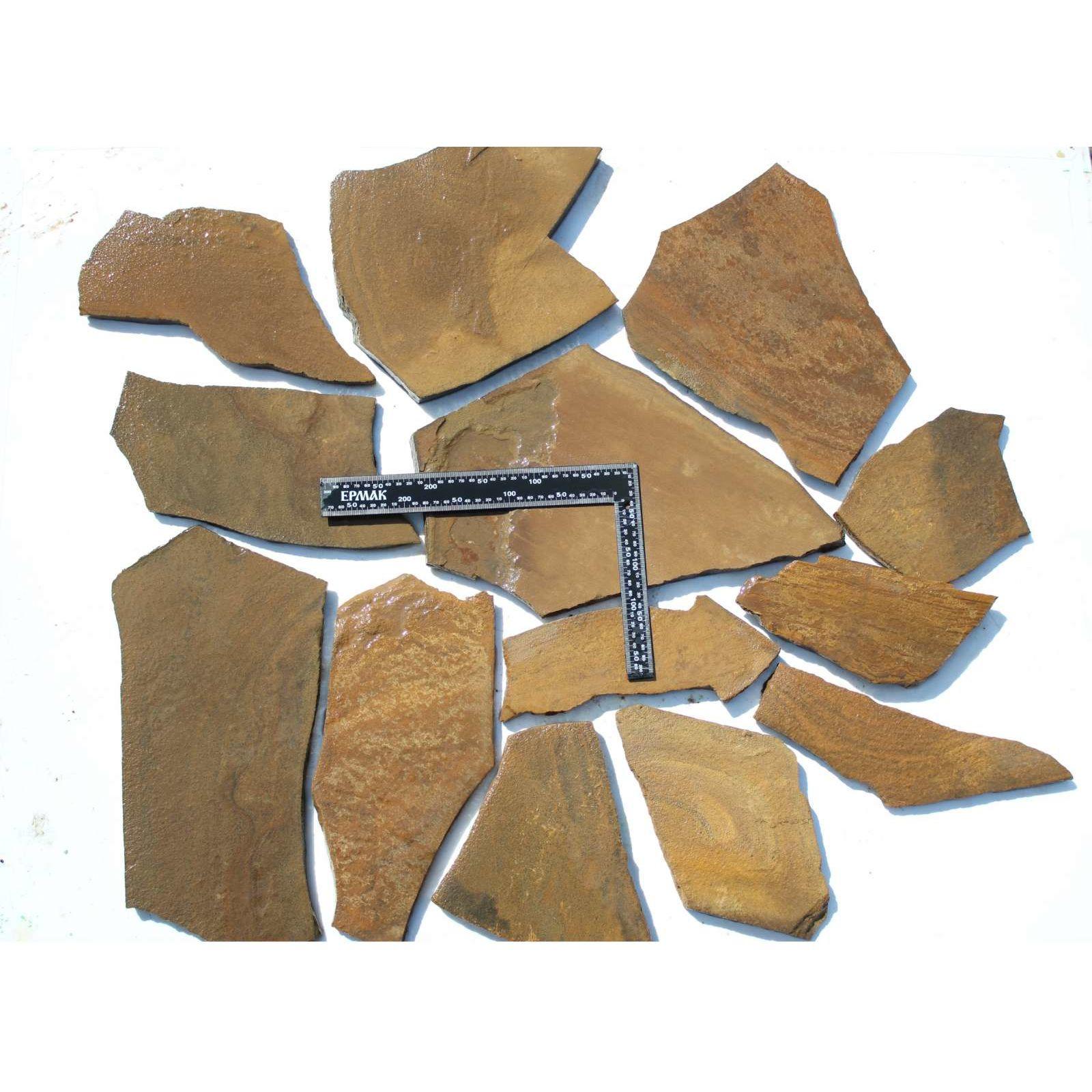 сбудутся плитняк для цоколя коричневый фото ученых
